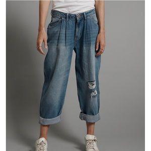 One Teaspoon Smiths low waist wide leg jean